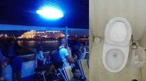 Toilette Corsica Ferries